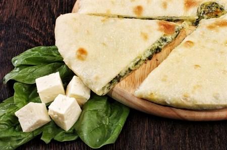 С сыром и шпинатом, 500 гр. Осетинский пирог - фото 4488