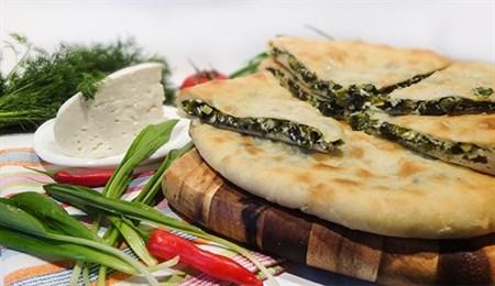 """С сыром и черемшой, 800 гр. Осетинский пирог  """"Давонджын"""" - фото 4633"""