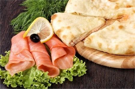 Рыбный Пирог, 1000 гр. Осетинский пирог    - фото 4722