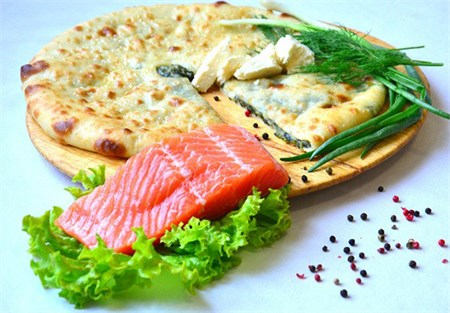 Рыбный Пирог, 800 гр. Осетинский пирог - фото 4725