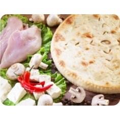 С куриной грудкой, сыром и грибами, 1000 гр. Осетинский пирог - фото 4786