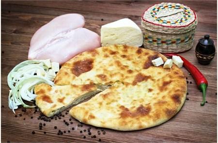С куриной грудкой и сыром, 800 гр. Осетинский пирог - фото 4891