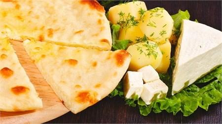 "С сыром и картофелем, 750 гр. Осетинский пирог ""Картофджын"" - фото 4927"