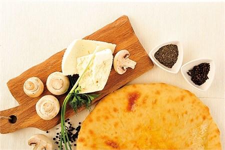 С грибами и сыром, 750 гр. Осетинский пирог - фото 4933