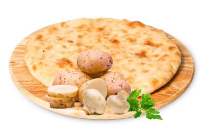 "С грибами и картофелем, 500 гр. Осетинский пирог ""Къозоджын"" - фото 4940"