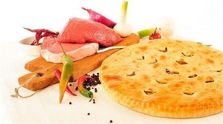 С мясом и картофелем, 750 гр. Осетинский пирог - фото 5019