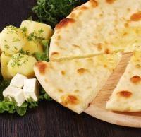 С картофелем, зеленым луком и укропом, 1000 гр. Осетинский пирог - фото 5093