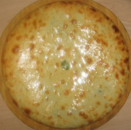 С картофелем, зеленым луком и укропом, 800 гр. Осетинский пирог - фото 5096