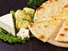 """С сыром и картофелем, 500 гр. Осетинский пирог """"Картофджын"""""""