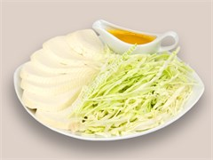"""С сыром и капустой, 800 гр. Осетинский пирог """"Къабушкаджын+Уалибах"""""""