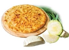 """С сыром и капустой, 500 гр. Осетинский пирог """"Къабушкаджын+Уалибах"""""""