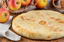 """С яблоками, 500 гр. Осетинский пирог """"Фаткъуджын"""""""