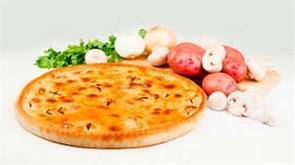 """С грибами и картофелем, 800 гр. Осетинский пирог """"Зокъоджын"""""""