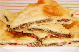 """Со свекольными листьями и сыром, 500 гр. Осетинский пирог """"Цахараджын"""""""