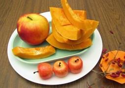 С тыквой и яблоками, 500 гр. Осетинский пирог Насджын/Фаткъуджын
