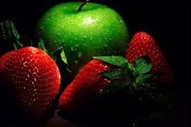 Клубнично-Яблочный пирог 1200 гр. на дрожжевом тесте