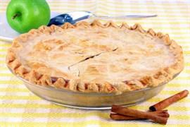 Яблочный пирог 1200 гр. на дрожжевом тесте
