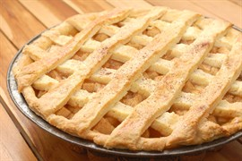 Ананасово-Абрикосовый пирог 1200 гр. на дрожжевом тесте